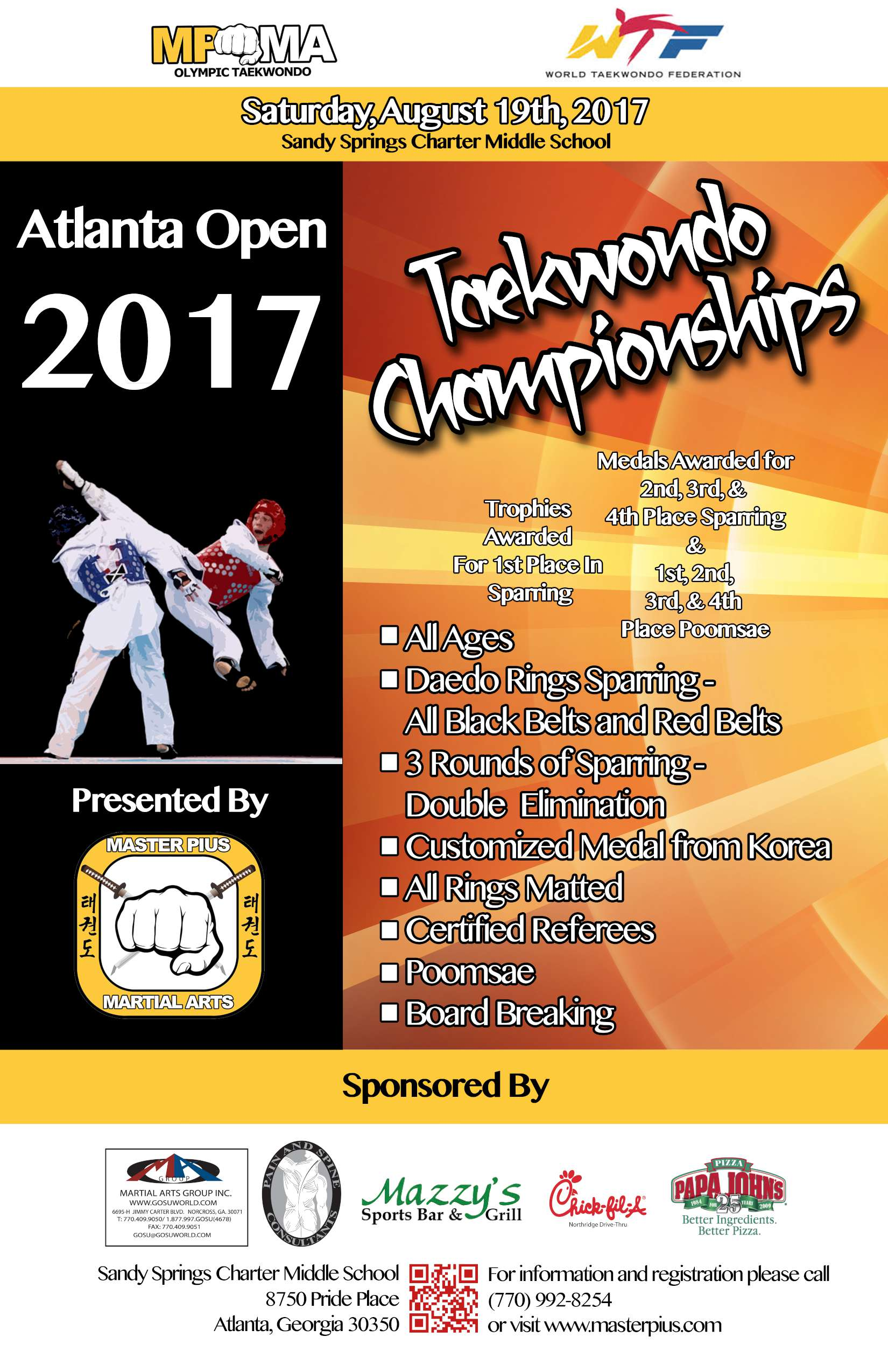 2017 Tournament Flyer